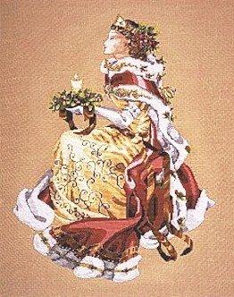 Royal Holiday - Cross Stitch Chart
