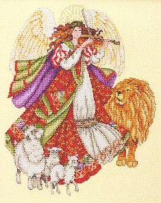 Angel of Peace - Cross Stitch Chart