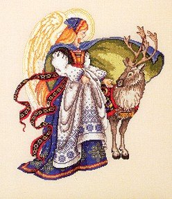 Nordic Angel - Cross Stitch Chart