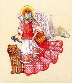 Russian Angel - Cross Stitch Chart