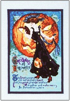 Witches Dance - Cross Stitch Chart