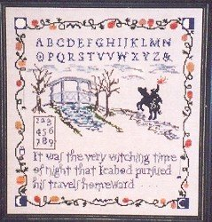 Sleepy Hollow Sampler - Cross Stitch Chart