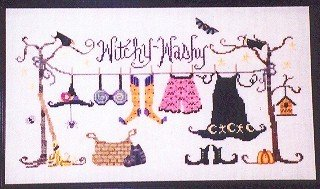 Witchy Washy - Cross Stitch Chart
