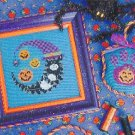 Halloween Kitty Moon - Cross Stitch Chart