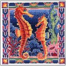 Sea Horses - Cross Stitch Chart