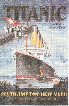 Titanic - Cross Stitch Chart