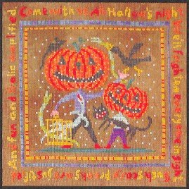 All Hallow's Night - Cross Stitch Chart