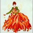 Chrysanthemum - Cross Stitch Chart