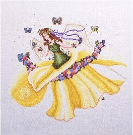 Daffodil - Cross Stitch Chart