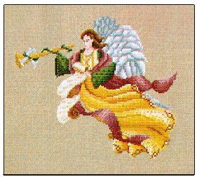 Gabriel Ark Angel - Cross Stitch Chart