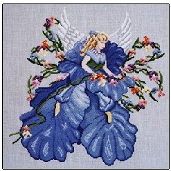 Iris - Cross Stitch Chart