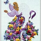 Pansy - Cross Stitch Chart