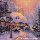 Stonehearth Hutch by Thomas Kinkade - Cross Stitch Chart