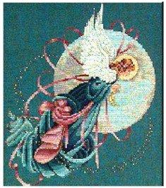 Blue Moon Angel - Cross Stitch Chart