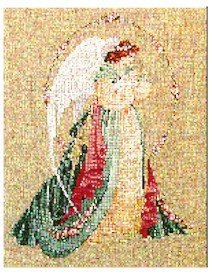 Guardian Angel (LL18) - Cross Stitch Chart