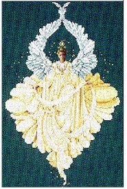 Peace Angel - Cross Stitch Chart