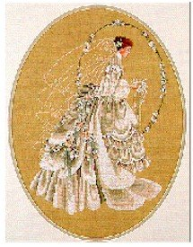 The Bride - Cross Stitch Chart