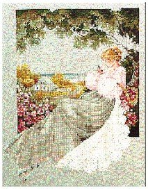 Nantucket Rose - Cross Stitch Chart