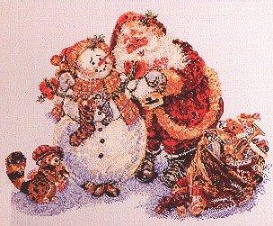 Santa's Helper - Cross Stitch Chart