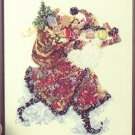 Santa's Magical Coat of Colors - Cross Stitch Chart