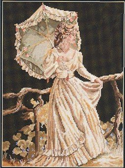 She Walks In Beauty - Cross Stitch Chart