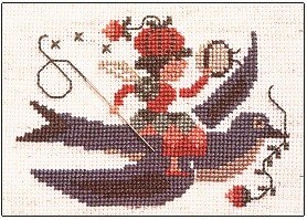 1995 Prairie Fairie - Cross Stitch Chart
