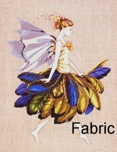 The Feather Fairy - Fabric