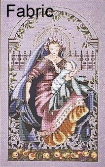 Madonna of the Garden - Fabric