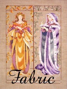 Maidens Of The Seasons II - Fall & Winter - Fabric