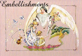 Guardian Angel - Embellishments Kit  (Mirabilia)