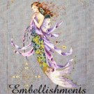Shimmering Mermaid - Embellishments Kit
