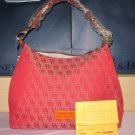 Dooney and Bourke Juliette Hobo Red Brand NEW