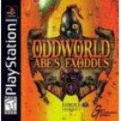 PlayStation 1-OddWorld Abe's Exoddus-Black Label Edition
