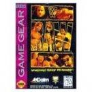 Sega Game Gear-WWF RAW