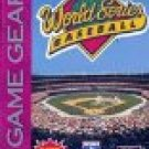 Sega Game Gear-World series Baseball