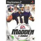 PlayStation 2-Madden NFL 2002-Black Label Edition