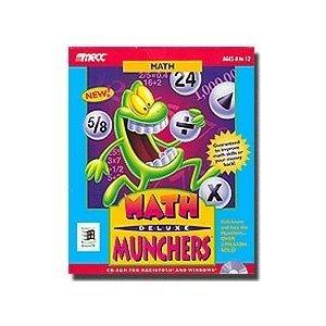 Math Munchers Deluxe-MECC