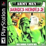 PlayStation 1-Army Men:Sarge's Heroes 2-Black Label Edition