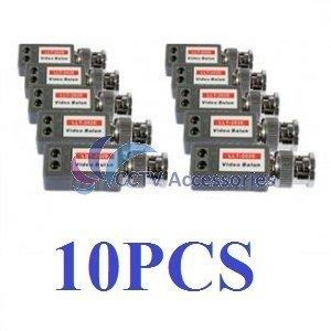 (10) 1 Port Passive Video Balun Transceiver for Cameras