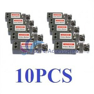 (10) 1 Port Passive Video Balun Transceiver for Cameras