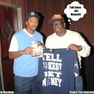 CEDRIC THE ENTERTAINER  (THIS TEE IN THIS PIC IS NOT FOR SALE)