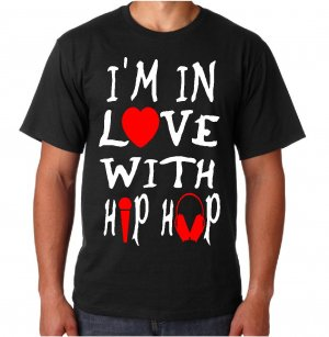 I'M IN LOVE WITH HIP HOP (Men's 5XL)