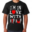 I'M IN LOVE WITH HIP HOP (Men's 2XL)
