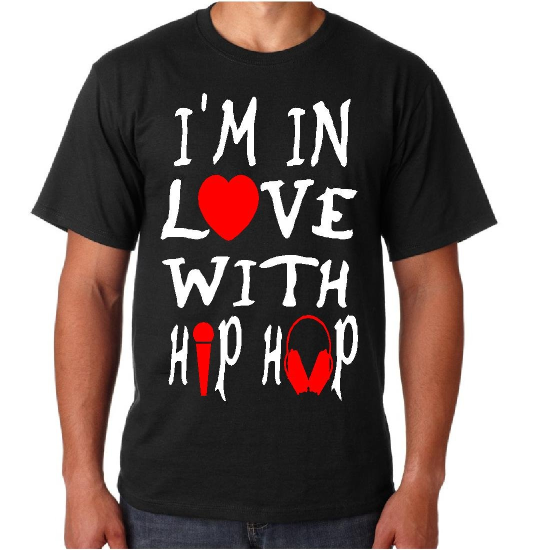 I'M IN LOVE WITH HIP HOP (Men's Medium)