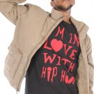 I&#39;M IN LOVE WITH HIP HOP (THIS TEE ON THIS PIC IS NOT FOR SALE)
