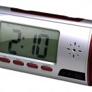 Talking Alarm Clock DVR Web Camera with Mini Remote Control 4GB Micro SD Card and Date Time Stamp