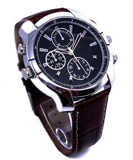 HD Camcorder Watch with Night Vision (8GB)
