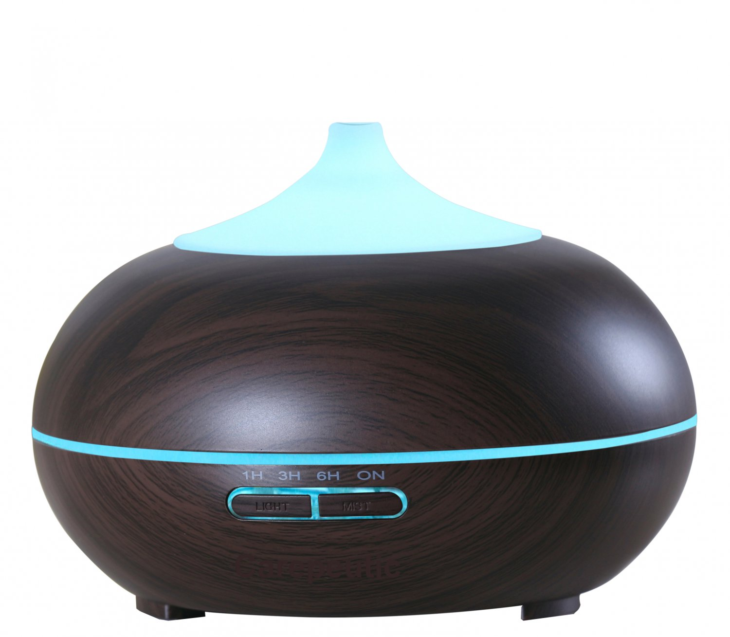 Carepeutic Aroma Therapy Diffuser (Dark Wood Grained)