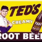 Ted's Creamy Root Beer - Magnet