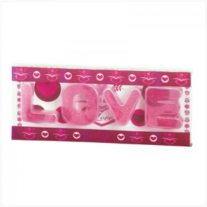 'LOVE' TRANSPARENT SOAPS